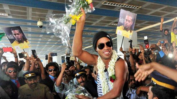 Ronaldinho Gaúcho na Índia