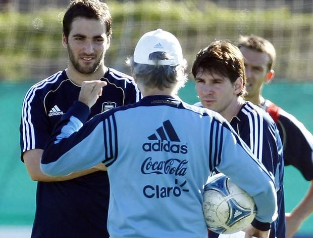 Messi, Higuain, Argentina (Foto: EFE)