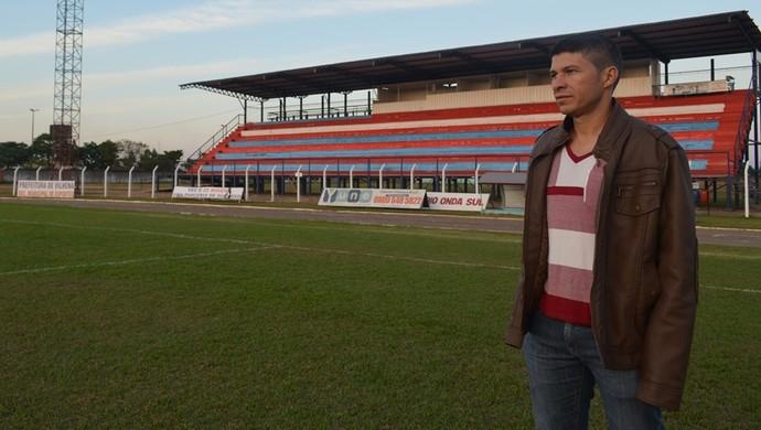 Valdomiro Eduardo Martins (Foto: Lauane Sena)