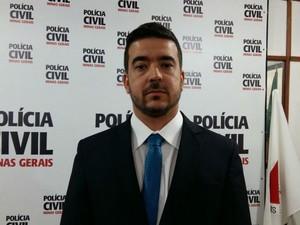Delegado da Especializada de Homicídos José Márcio de Almeida Lopes  (Foto: Polícia Civil/ Divulgação)