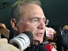 Sessão para analisar vetos 'não é prudente' nesta semana, diz Renan