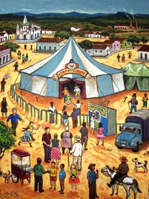 """""""Quando um circo chegava a cidade, era extraordinário"""" (Foto: Assis Costa)"""