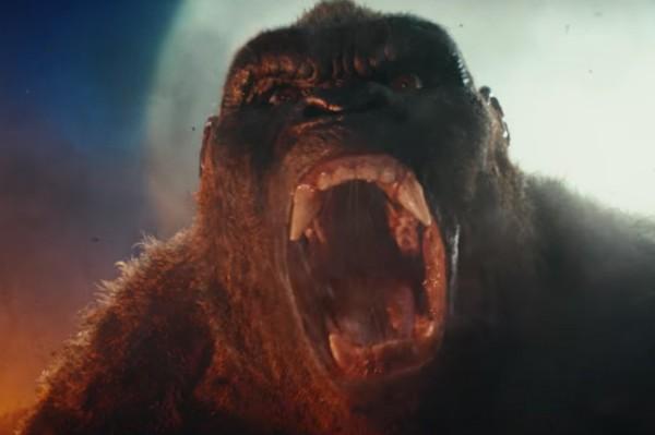 Uma cena do trailer de 'Kong: A Ilha da Caveira' (Foto: Reprodução)