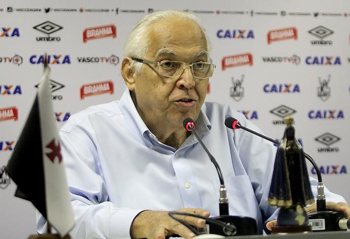 Eurico Coletiva Vasco (Foto: Paulo Fernandes/Vasco.com.br)
