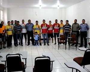 Galvez apresenta pacotão de reforços para disputa do Acreano 2015 (Foto: João Paulo Maia)