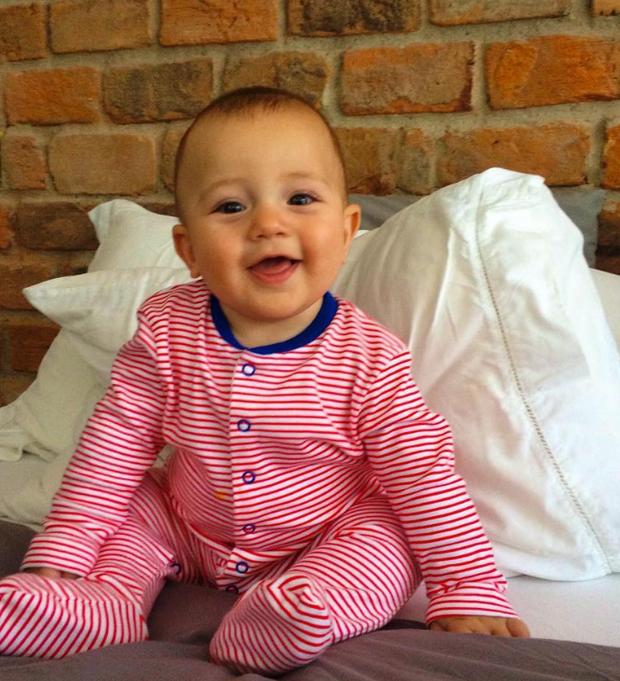 Paloma Duarte comemora sete meses do filho (Foto: Reprodução/Instagram)
