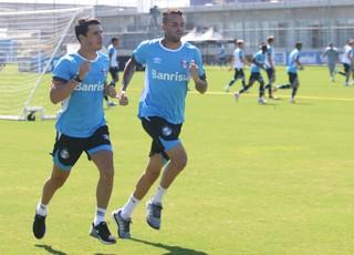 Giuliano Luan Grêmio (Foto: Eduardo Moura/GloboEsporte.com)
