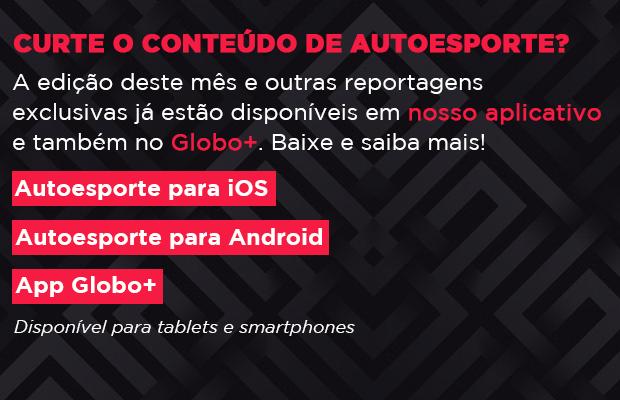 Baixe o aplicativo Autoesporte no seu celular (Foto: Autoesporte)
