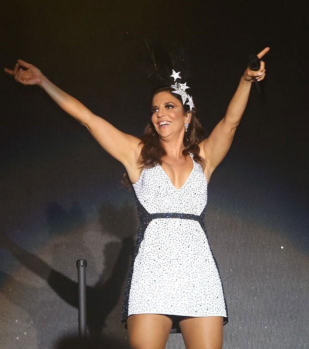 Ivete Sangalo (Foto: Fred Pontes/Foto Rio News)
