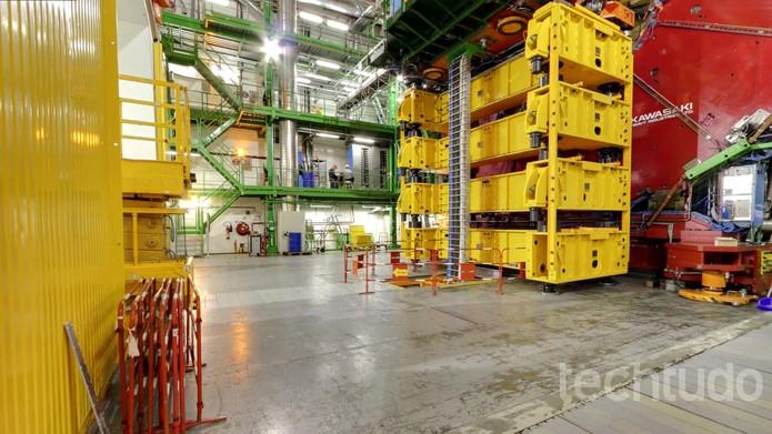 CERN no Google Street View (Foto: Reprodução/Barbara Mannara)