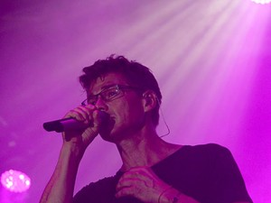 O vocalista do A-ha, Morten Harket (Foto: Vianey Bentes/TV Globo)