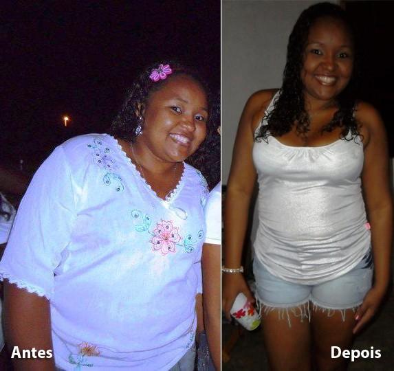 Flávia perdeu 19 quilos após adotar novos hábitos alimentares (Foto: Arquivo Pessoal/Flávia)