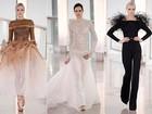 Stephane Rolland apresenta coleção luxuosa em desfile de alta-costura na semana de moda de Paris