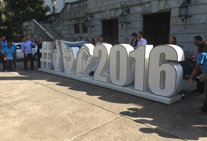 Coletiva 100 dias para a Paralimpíada (Foto: Flávio Dilascio)