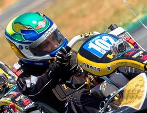 Victor Uchôa, piloto de kart (Foto: Divulgação)