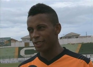 Buiú, agora Jardel, é uma das contratações do Remo (Foto: Reprodução/TV Liberal)