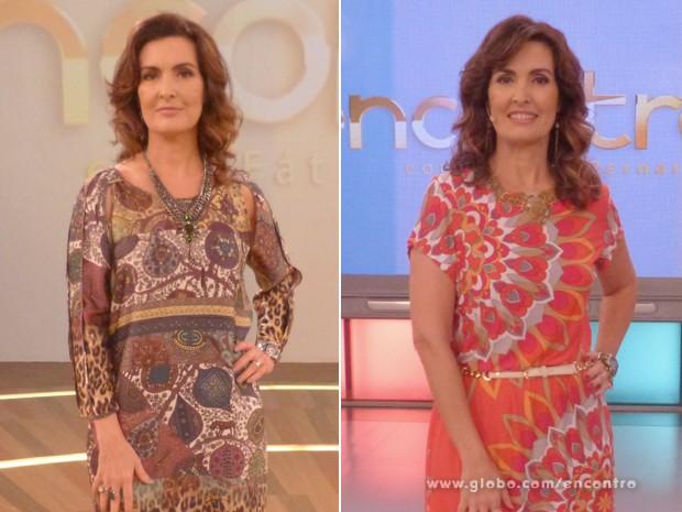 Confira o antes e depois do cabelo de Fátima Bernardes (Foto: Encontro com Fátima Bernardes/TV Globo)