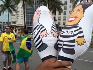 * No RJ 1 milhão de pessoas saem as ruas pedindo Impeachment de Dilma