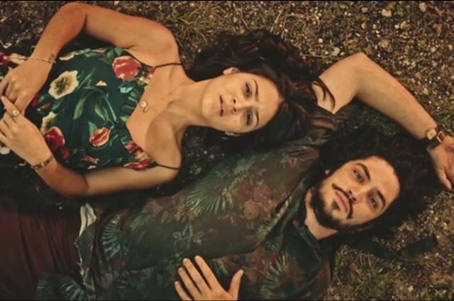 Giullia Buscacio e Gabriel Leone (Foto: Reprodução)