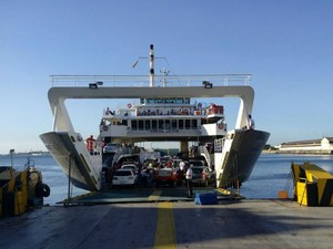 Ferry Dorival Caymmi sai lotado na tarde desta quinta-feira  (Foto: Divulgação / Internacional Travessias)