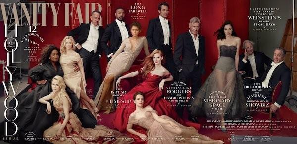 A capa da revista Vanity Fair sem a presença de James Franco (Foto: Divulgação)
