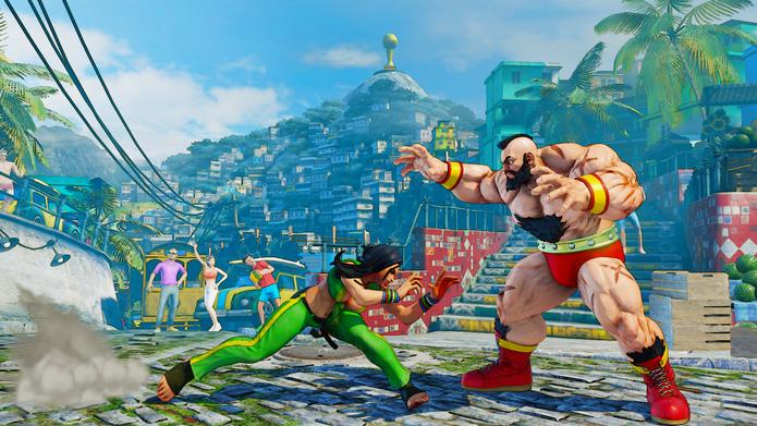 Street Fighter 5: V-Skill de Laura incrementa sua mobilidade (Reprodução/Youtube) (Foto: Street Fighter 5: V-Skill de Laura incrementa sua mobilidade (Reprodução/Youtube))