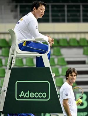 Gilbert Bang tênis Copa Davis médico (Foto: Divulgação/POA Press)