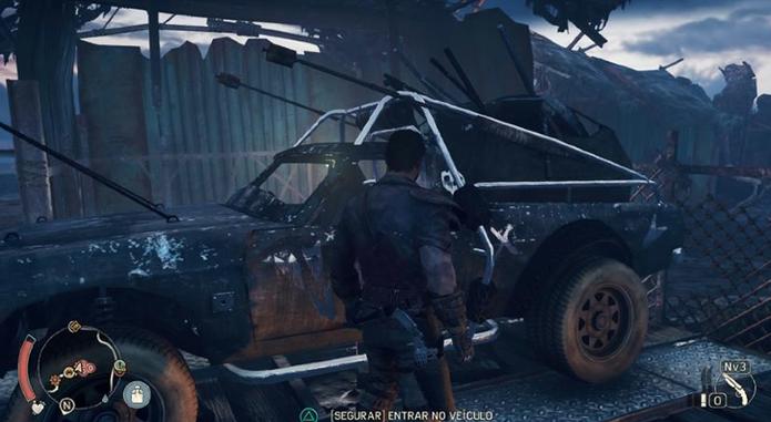 Como conseguir novos carros em Mad Max e ampliar sua garagem (Foto: Reprodução/Felipe Vinha)