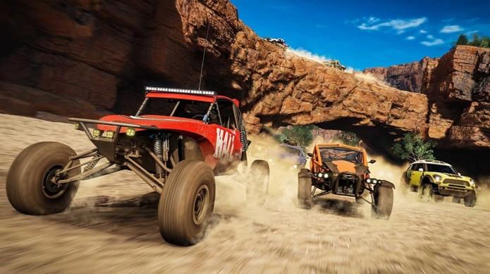 Forza Horizon 3 traz um mundo aberto e com belos gráficos para corridas na Austrália (Foto: Reprodução/Amazon)