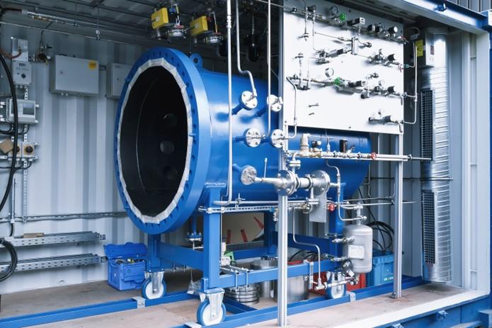 Máquina é capaz de transformar água em combustível (foto: Reprodução/Sunfire)