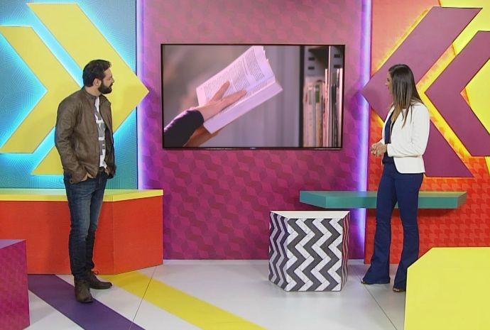 Programa vai mostrar as diferentes vertentes do tema literatura (Foto: Reprodução / TV TEM)