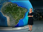 Previsão é de chuva forte no Paraná e no Mato Grosso do Sul