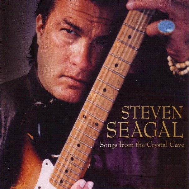 Steven Seagal - 'Songs From The Crystal Cave'  (Foto: Divulgação)