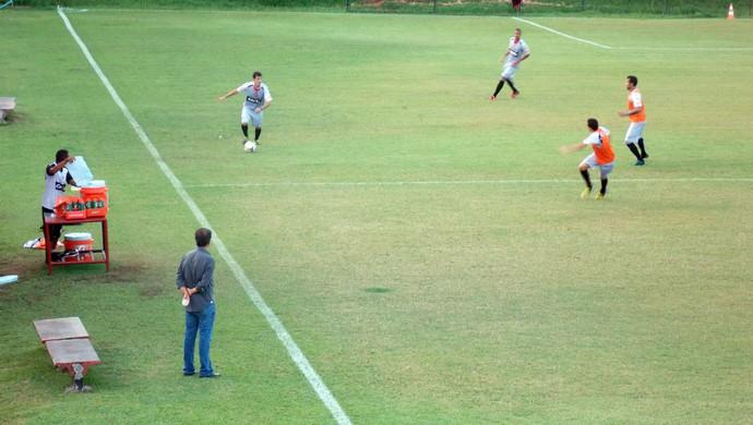 Felipe Ximenes; treino do Vitória (Foto: Thiago Pereira)