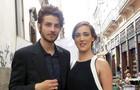 Chay Suede e Adriana Birolli gravam no Centro do Rio (Foto: Império/TV Globo)