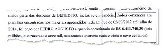 DINHEIRO SUSPEITO Responsável pelos encontros secretos, primo de Bené movimentou R$ 6,4 mi (Foto: Reprodução)