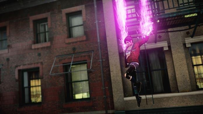 Rasgue os céus e ruas de Seattle usando os poderes de neon (Foto: Divulgação)