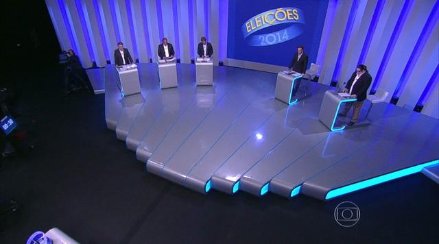 Debate entre os candidatos ao governo do Rio de Janeiro - Parte 4