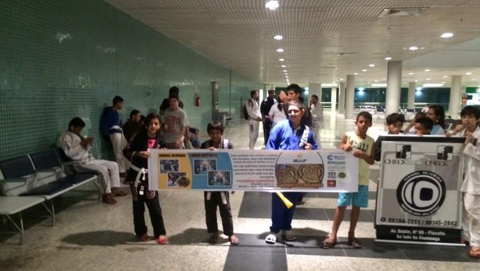 jiu-jitsu, aeroporto, manaus, amazonas (Foto: Divulgação)