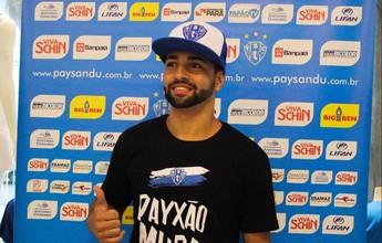 Bruno Veiga tem o nome publicado  no BID e pode estrear pelo Paysandu