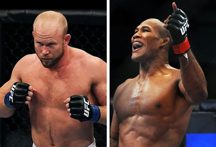 Tim Boetsch x Ronaldo jacaré (Foto: Getty)