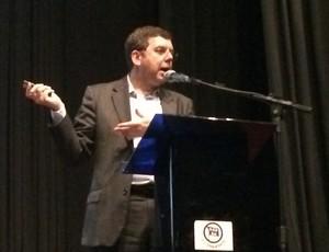Ricardo secretário de alto rendimento (Foto: Guilherme Costa)