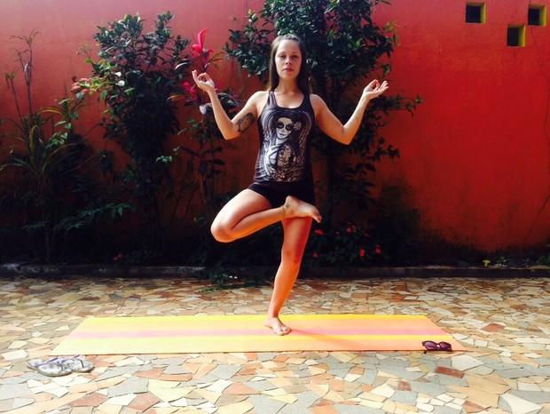 Gisele Frade, ex-'Malhação', revela segredos de boa forma na 3ª gestação (Foto: Reprodução do Instagram)