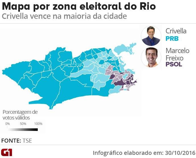 Mapa - zona eleitoral