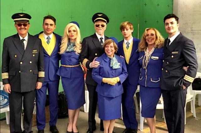 Elenco de 'Brasil a bordo' (Foto: Reprodução)