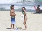 Mais fotos! Mariana Rios exibe corpo sarado em praia do Rio
