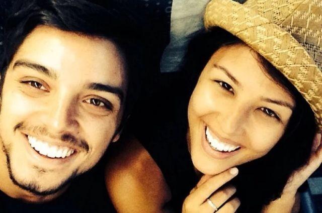 Rodrigo Simas e Yanna Lavigne (Foto: Reprodução)
