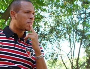luis fabiano são paulo entrevista (Foto: Sergio Gandolphi / Globoesporte.com)