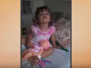 Menina foi espancada e não resistiu aos ferimentos  (Foto: Reprodução/RBS TV)