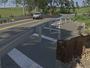 Cratera abre em rodovia de Alambari e motoristas pedem sinalização
